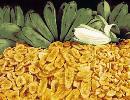 Сухофрукты из Бананов